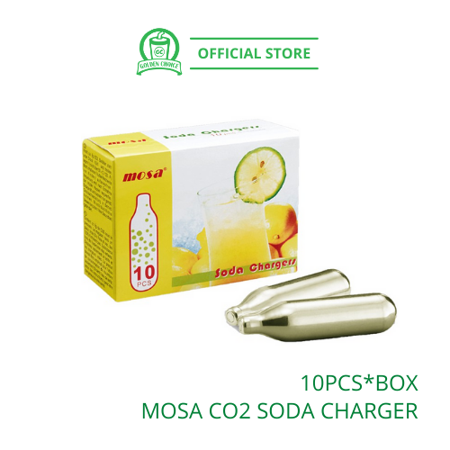 MOSA CO2 SODA CHARGER BULLET BOX 汽泡水子弹 - Carbon Dioxide | Sparkling Water
