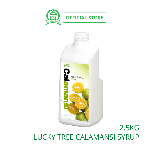 CALAMANSI Concentrate Syrup 2.5kg LUCKY TREE 福树鲜桔果汁 - Taiwan Import | Fruit Tea | Fruit Juice
