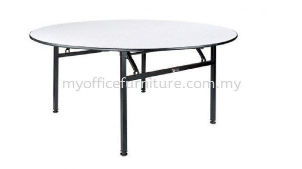 FOLDABLE ROUND TABLE (RM 182.00/UNIT) Banquet Foldable Table TABLE Selangor, Malaysia, Kuala Lumpur (KL), Klang Supplier, Suppliers, Supply, Supplies | myofficefurniture.com.my