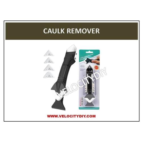 (3合1 硅胶去除与涂抹工具)3 In 1 Silicone Tools Trowel & Scraper (Silicone Sealant Removal Tool)