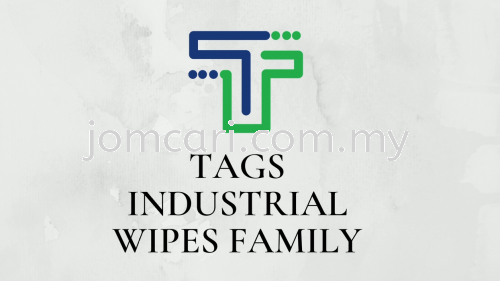 TAGS Industrial Wipes Family