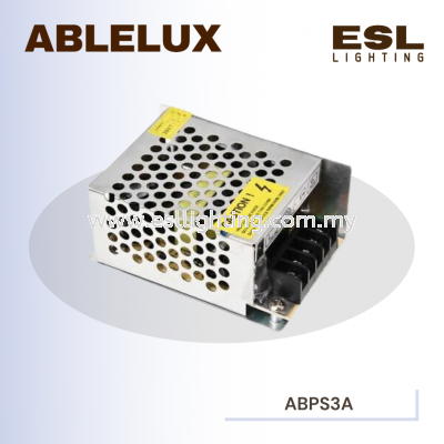 ABLELUX 3A POWER SUPPLY 36W AC 110 / 220V
