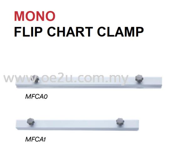 MONO Flip Chart Clamp (For MONO Range Flipchart Only)