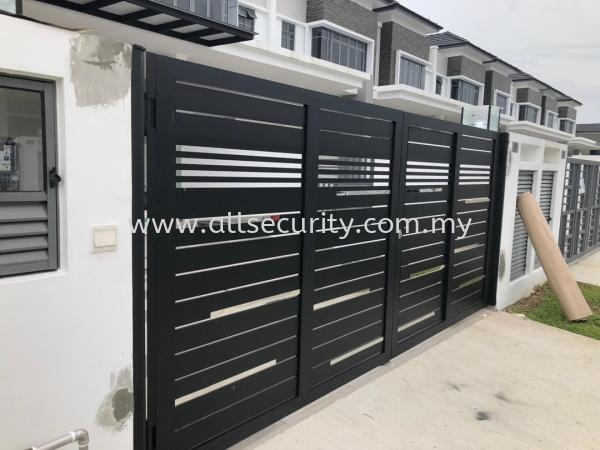 ALUMINIUM SWING GATE Aluminium Swing Gate GATE   Manufacturer, Supplier, Supply, Supplies | AST Automation Pte Ltd