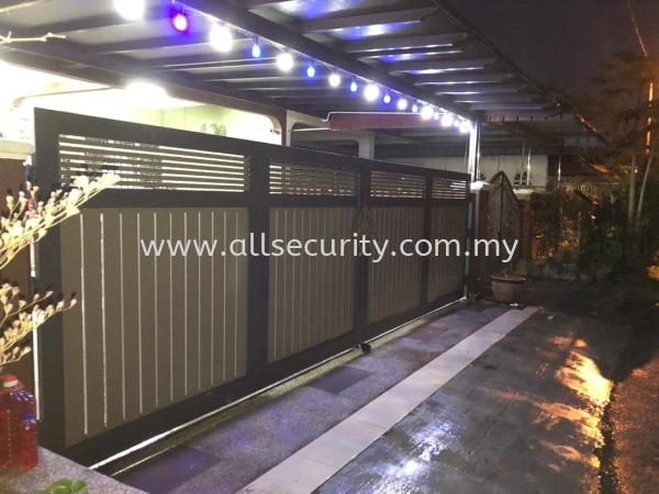 ALUMINIUM TRACKLESS FOLDING GATE Aluminium Trackless Folding Gate GATE   Manufacturer, Supplier, Supply, Supplies   AST Automation Pte Ltd