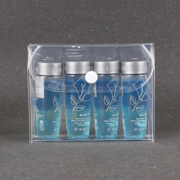 Toiletries pouch transparent PVC 0.4mm thickness with button  Toiletries Bag Premium Gifts Selangor, Malaysia, Kuala Lumpur (KL), Seri Kembangan Service, Supplier, Supply, Supplies | Printmy Sdn Bhd