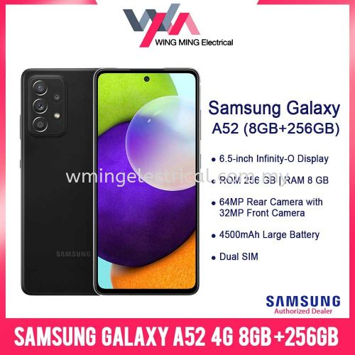 Samsung Galaxy A52 4G  6.5 Inch Android