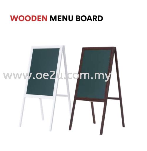 Wooden Menu Board (Single Sided)