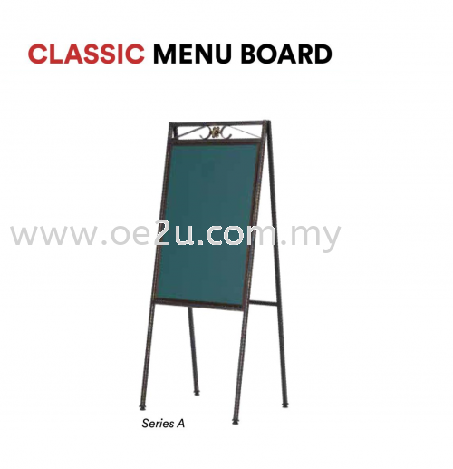 Classic Menu Board (Series A) - Double Sided