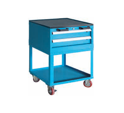 Service Carts with Upper Drawers