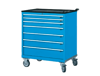 Professional Heavy Duty Roller Cabinet Series - 7 Drawer Wide Roller Cabinets