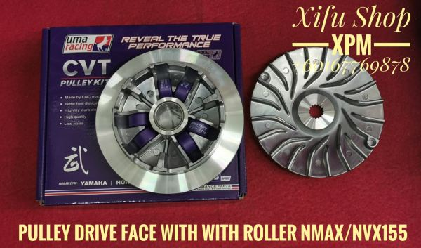 UMA PULLEY DRIVE FACE NMAX /NVX155 WITH ROLLER 02P00870 UMALJHEE Others Johor Bahru JB Supply Suppliers | X Performance Motor