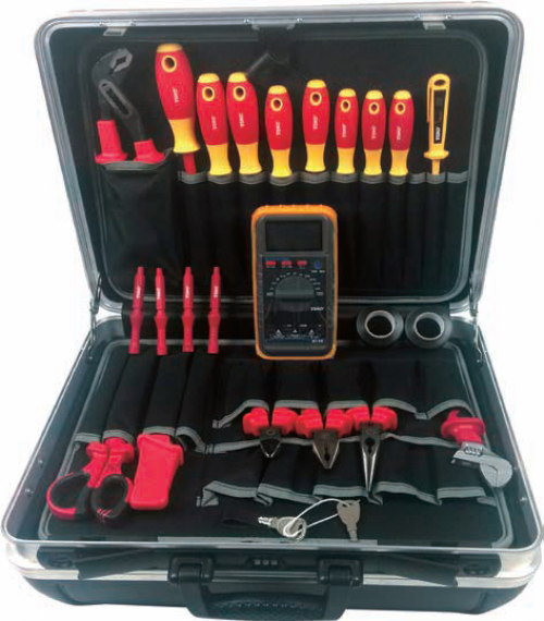 24Pc Electrician's Professional Tool Kit