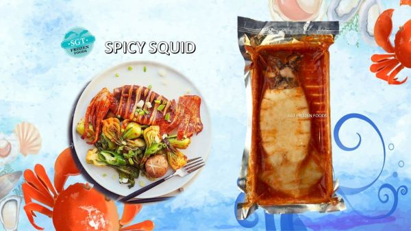 SPICY SQUID Ready-To-Eat Selangor, Malaysia, Kuala Lumpur (KL), Puchong Supplier, Suppliers, Supply, Supplies | SGT Frozen Foods Sdn Bhd