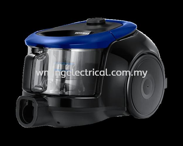 Samsung 370W (VC18M2120SB) Canister Bagless Vacuum Machine with Anti-Tangle Turbine