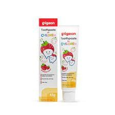 PIGEON - CHILDREN TOOTHPASTE STRAWBERRY - PG37078559 Pigeon Accessories Johor Bahru (JB), Malaysia, Skudai Supplier, Suppliers, Supply, Supplies | Top Full Baby House (M) Sdn Bhd