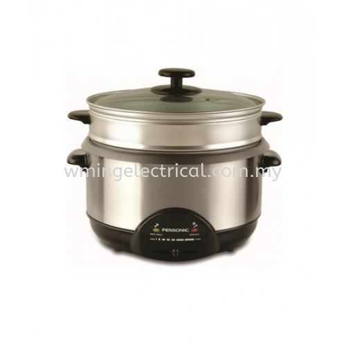Pensonic 3.8L Multi Cooker with steamer PMC-138S