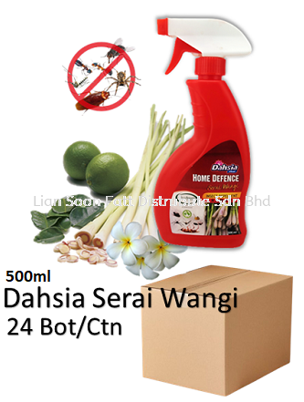 500ml Serai Wangi Insect Repellent Spray(24bot) Cleaning Product WholeSales Price / Ctns Perak, Malaysia, Ipoh Supplier, Wholesaler, Distributor, Supplies | LIAN SOON FATT DISTRIBUTE SDN BHD