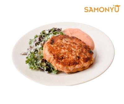 �����㺺���������㣩Salmon Burger (Thyme Herbs) 2pc /pkt