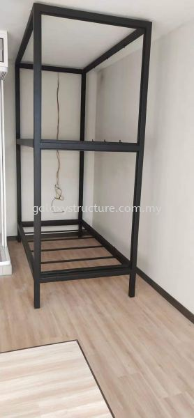To customised fabrication,supply and install bedstead mild steel powder coated @ Jalan Kristal L7/L, Seksyen 7, 40000 Shah Alam. Perabot Logam Selangor, Malaysia, Kuala Lumpur (KL), Shah Alam Supplier, Suppliers, Supply, Supplies | GALAXY STRUCTURE & ENGINEERING SDN BHD