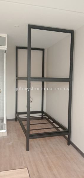 To customised fabrication,supply and install bedstead mild steel powder coated @ Jalan Kristal L7/L, Seksyen 7, 40000 Shah Alam. Metal Furniture Selangor, Malaysia, Kuala Lumpur (KL), Shah Alam Supplier, Suppliers, Supply, Supplies | GALAXY STRUCTURE & ENGINEERING SDN BHD