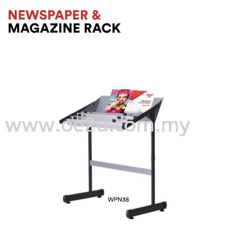 Newspaper & Magazine Rack (WPN38)