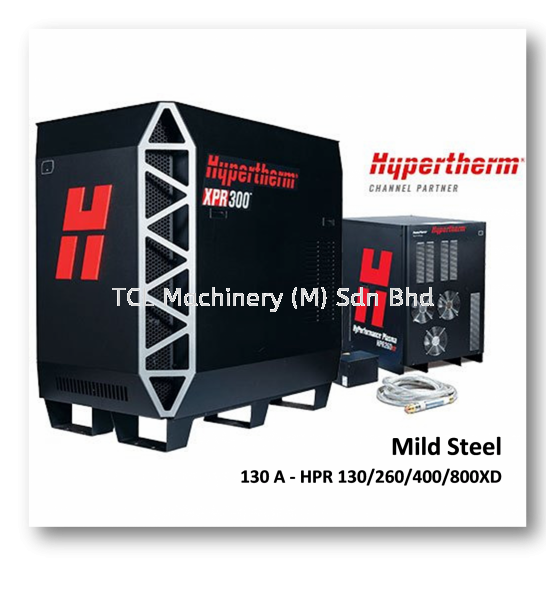 130A-HPR130/260/400/800XD HPR : Mild Steel Plasma Consumables - Hypertherm Accessories Johor Bahru JB Malaysia Supply Supplier   TCL Machinery (M) Sdn Bhd