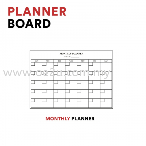 Monthly Planner