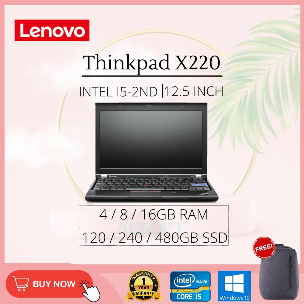 Lenovo Thinkpad X220 / 12.5'' / i5-2nd