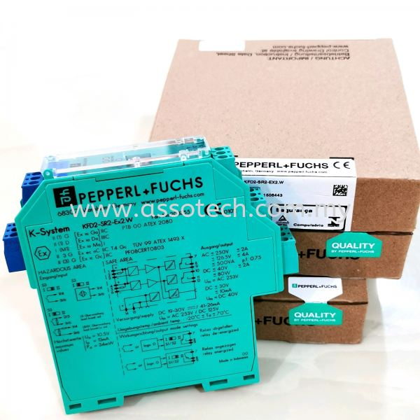 Pepperl Fuchs Barrier, Model:KFD2-SR2-EX2.W  Pepperl+Fuchs Penang, Malaysia, Bayan Baru Supplier, Suppliers, Supply, Supplies | Assotech Resources