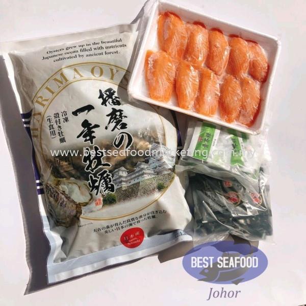 Sashimi Grade Food Set / 刺身生食套餐 Bulk Purchase / 批量配套 Johor Bahru (JB), Skudai, Malaysia Wholesaler, Supplier, Supply, Retailer | BEST Seafood Marketing (Johor) Sdn Bhd