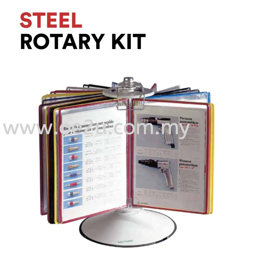 Steel Rotary Kit (c/w 50 Pivoting Pockets)