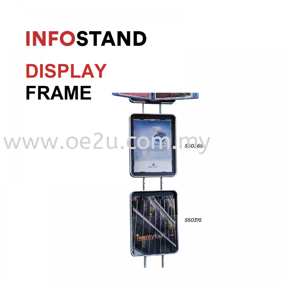 Additional Display Frame (Compatible with InfoStand Only)