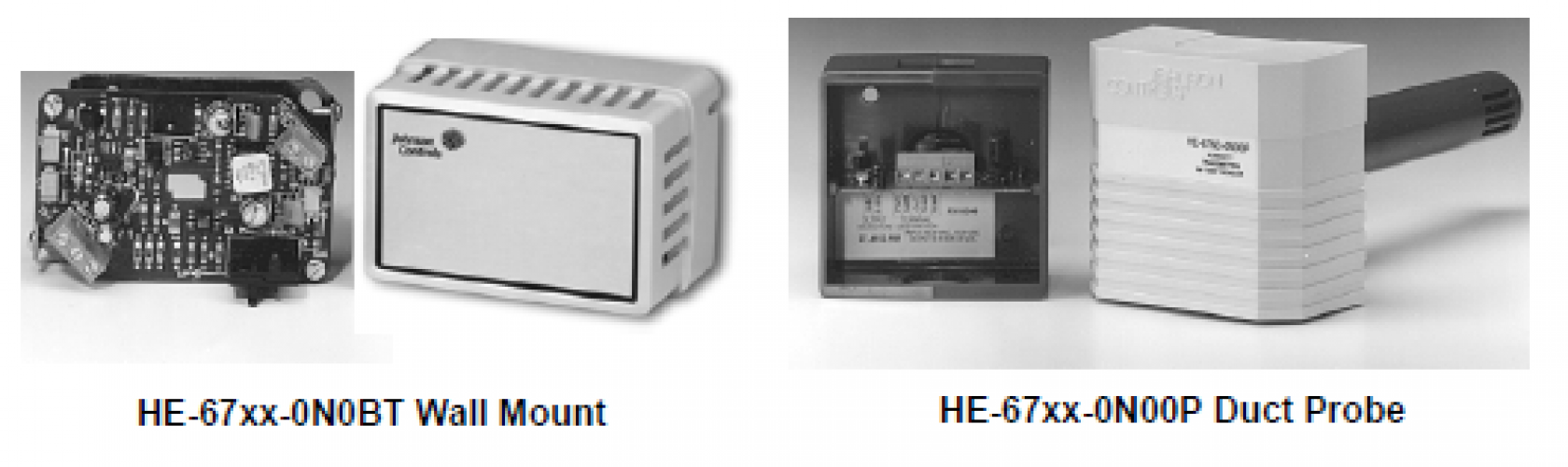 HE-67xx Series Humidity Element with Temperature Sensors