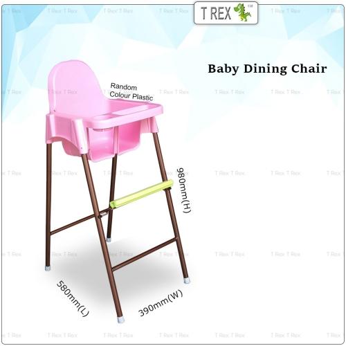 3V Joyful Baby Dining Chair (Random Color)