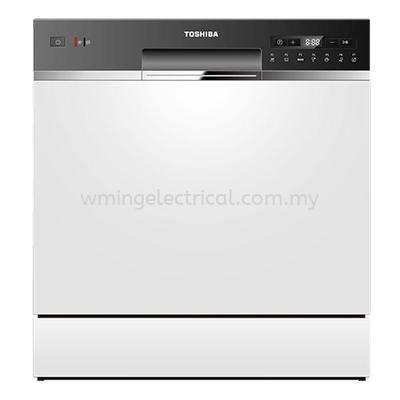Toshiba Dishwasher 83 PCS DW-08T1(S)-MY w Sanitizing Mode Dish Washer 洗碗机 DW-08T1(S)