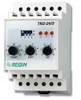 TM2-24/D Two stage electronic thermostat