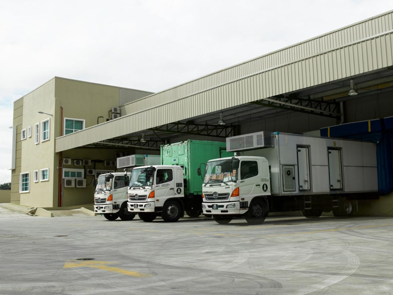 DOB (deliver on behalf) Cold Chain Warehouse Logistic Management