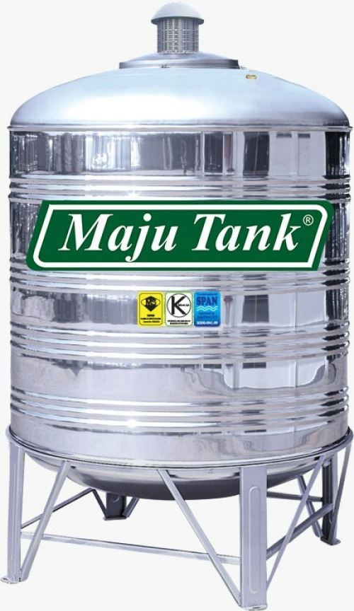 Stainless Steel BA-304 Water Tank MR Series Vertical Round Bottom With Stand