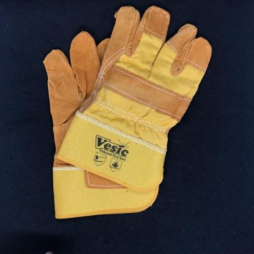 Vesic Half Leather Gloves