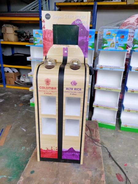 Nescafe Standee Product Display Standee Selangor, Malaysia, Kuala Lumpur (KL), Ampang Supplier, Suppliers, Supply, Supplies | Power Ant Crevolution Sdn Bhd
