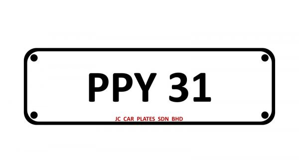 PPY 31 SPECIAL NUMBER 2 DIGIT Kuala Lumpur (KL), Malaysia, Selangor Dealer, Supplier, Supply, Supplies   JC Car Plates Sdn Bhd