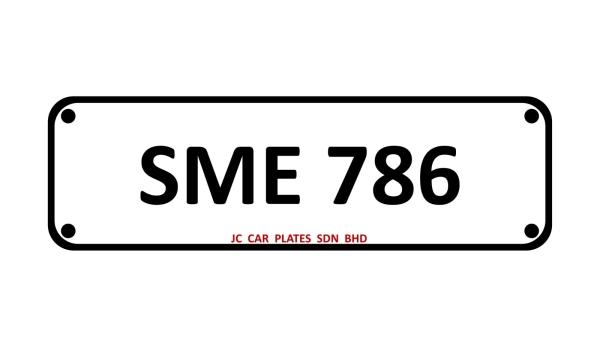 SME 786 SPECIAL NUMBER 3 DIGIT Kuala Lumpur (KL), Malaysia, Selangor Dealer, Supplier, Supply, Supplies | JC Car Plates Sdn Bhd