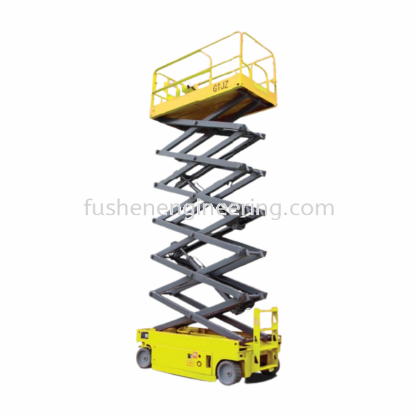 Self Propelled Scissor Lift Table - GTJZ Series Self Propelled Scissor Lift Table Scissor Lift Perak, Malaysia, Ipoh Supplier, Suppliers, Supply, Supplies   FU SHEN ENGINEERING SDN BHD