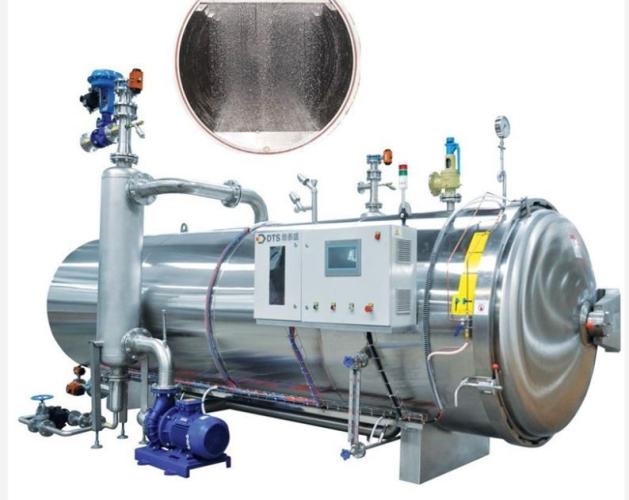 6m3 Electrical heating high pressure Horizontal mushroom /can/pouch sterilizer autoclave retort machine