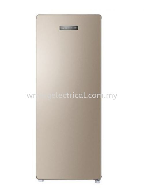 Haier 168L Upright Freezer R600a No-Frost Cooling Digital Touch Control Space Saver Freezer BD-168WL