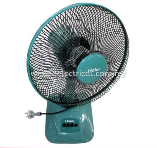"""Haier 12"""" Table Fan HA-129TF with 3 speed control"""