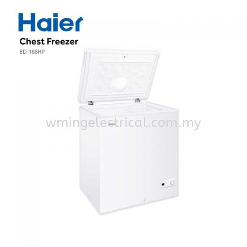 Haier NEW 155L 6-IN-1 Convertible Chest Freezer Dual Feature Fridge Or Freezer BD-188HP