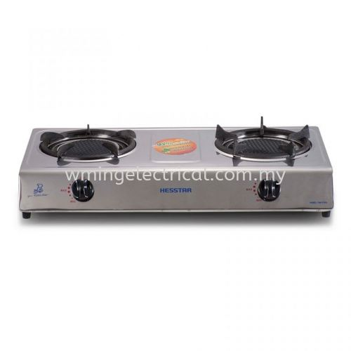 Hesstar Infra-Red Gas Cooker Gas Stove Burner 30% Saving on gas consumption Windproof Stainless Steel Body HGC-1617R