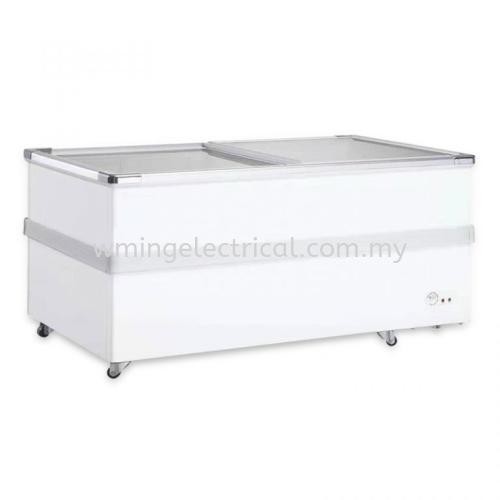 Hesstar 780L 2 Door Island Display Freezer HCF-TG700L